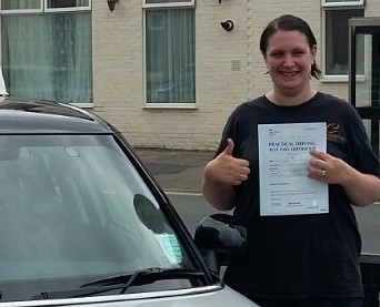 Samantha passed with BDS